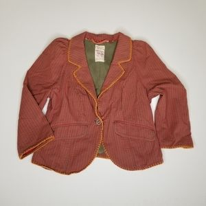 FREE PEOPLE   One Button Blazer, Lined, Size 4